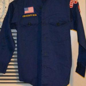 Cub Scout Complete Uniform With Two Neckerchiefs